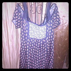 Dresses & Skirts - Cold Shoulder Boho Dress